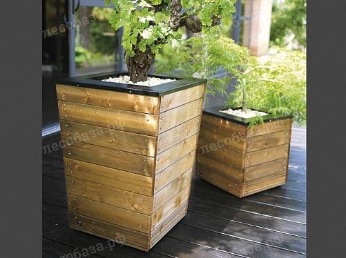 деревянные кашпо уличные ящики вазоны лесобазарф