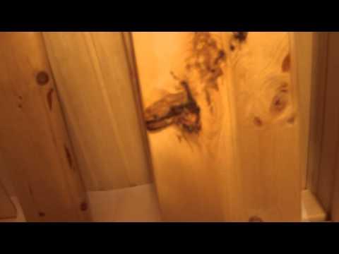 Отделка парной кердом и аромат кедра в сауне из кедровой доски, парная обшита кедром